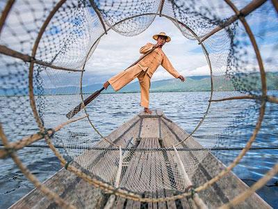 pêcheur d'inle