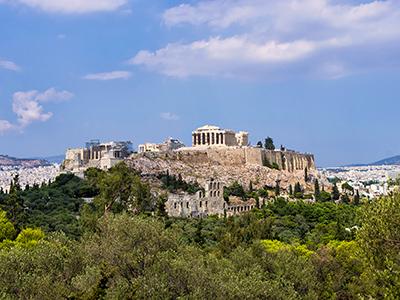 Séjour à Athènes
