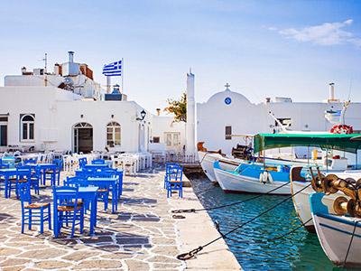 île de Paros en Grèce