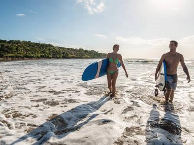 Surf au Four Seasons Jimabran