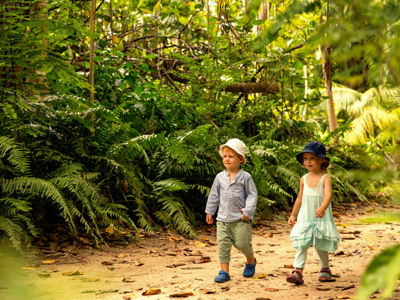 Voyage sur l'île de Praslin aux Seychelles