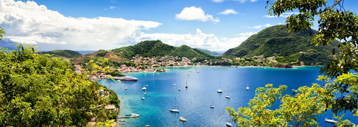 Baie de Terre-de-haut en Guadeloupe