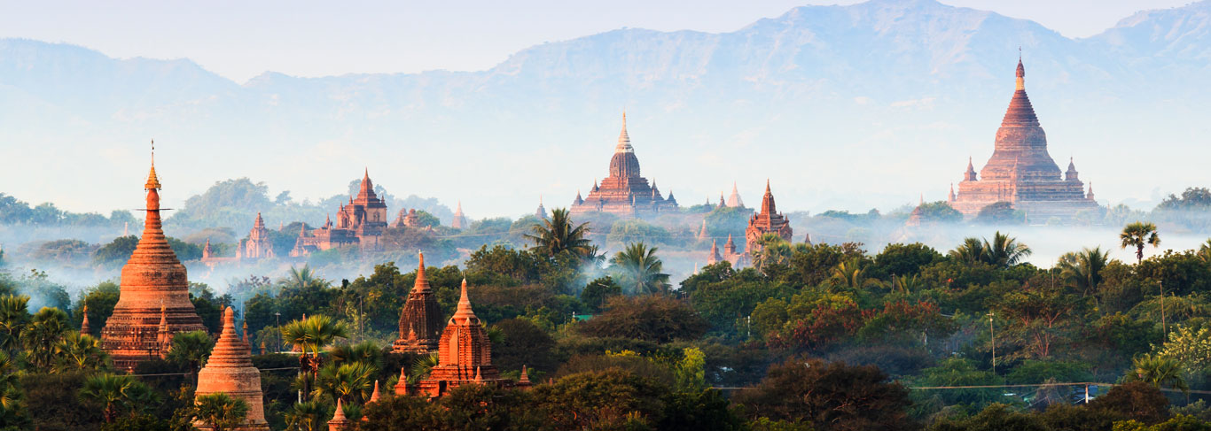 Voyage à Bagan en Birmanie