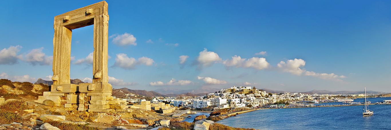 Séjour à Naxos en Grèce