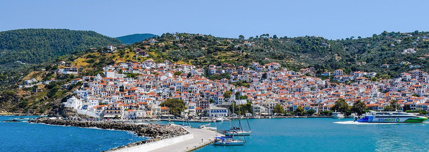 Séjour dans les Sporades