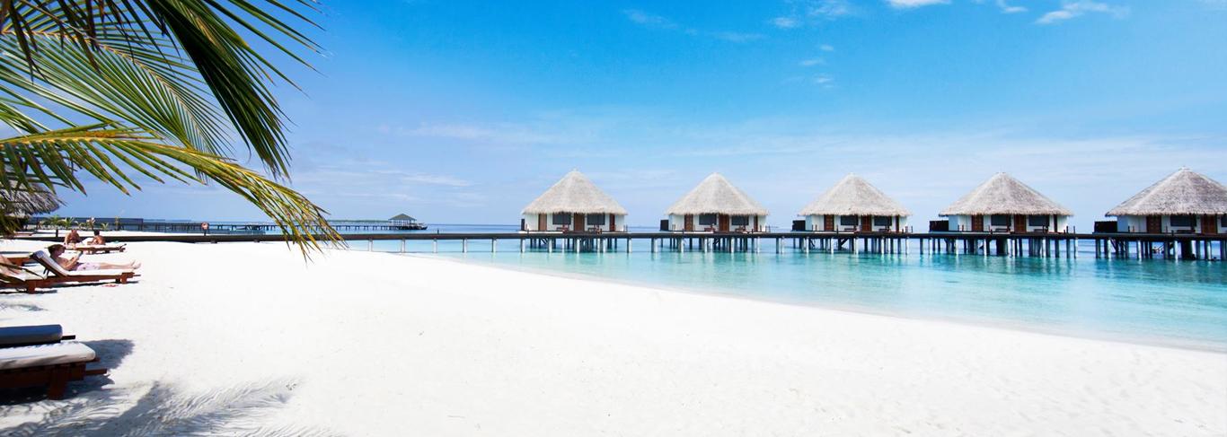 Hôtel de luxe dans l'atoll de Raa