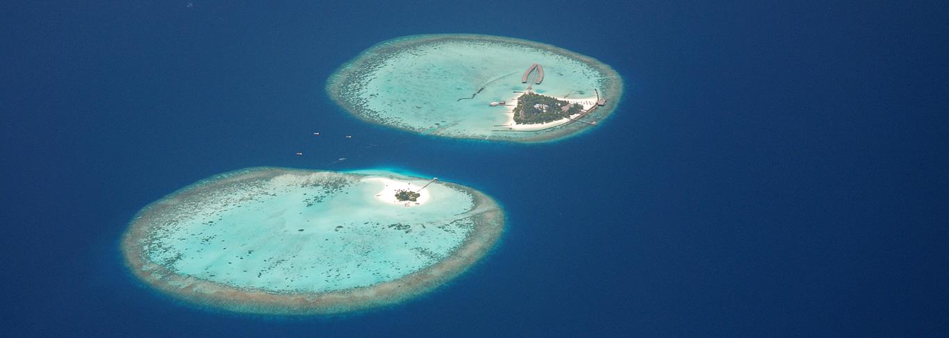 atolls aux Maldives