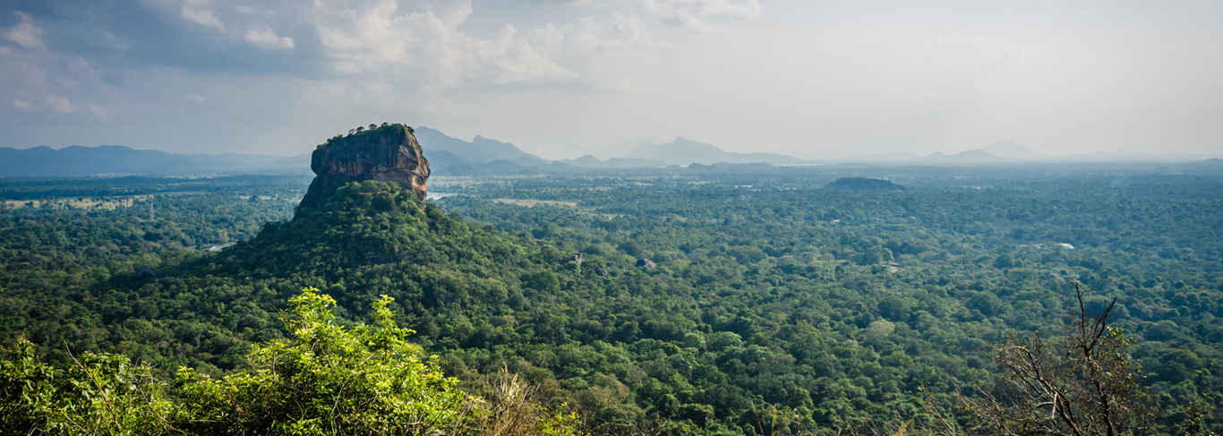 Rocher du Lion au Sri Lanka
