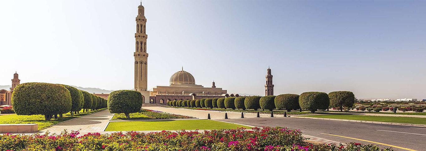 Grande Mosquée de Sultan Qaboos - 123RF
