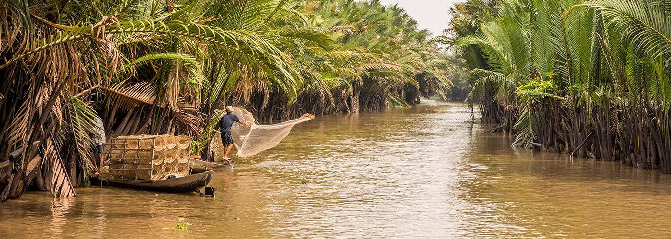 Saigon et le Sud du Vietnam