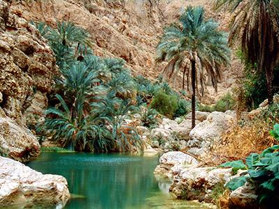 Séjour dans le Desert