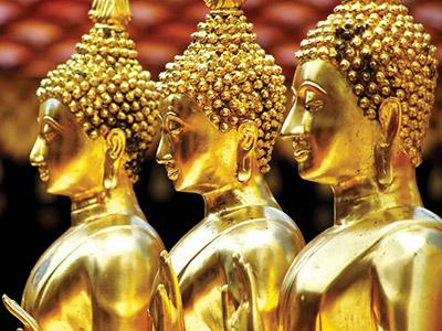 Triangle D'or en Thaïlande - Wat Rong Khun