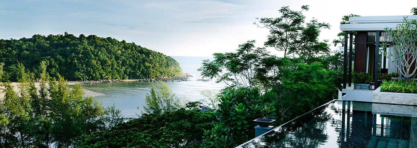 La vue depuis les Residences by Anantara à Phuket