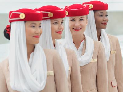 Service à bord d'Emirates |
