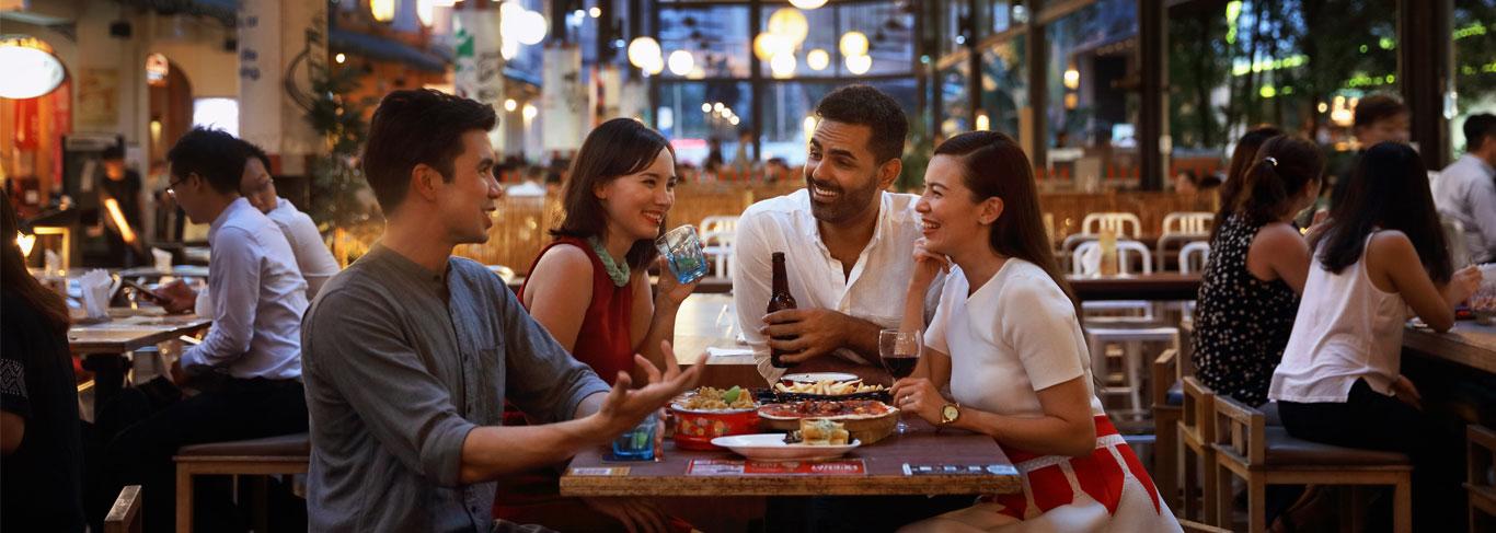 restaurants singapour