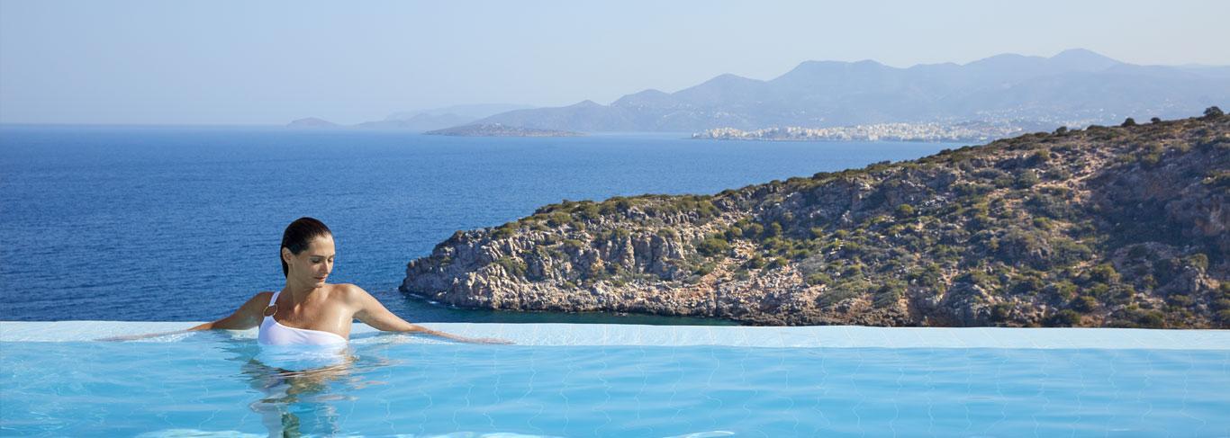 Les suites avec piscine privée du Daios Cove