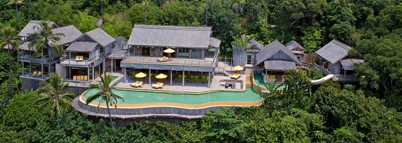 Les 10 plus belles villas avec piscine priv e de tha lande oovatu - Belles piscines privees ...