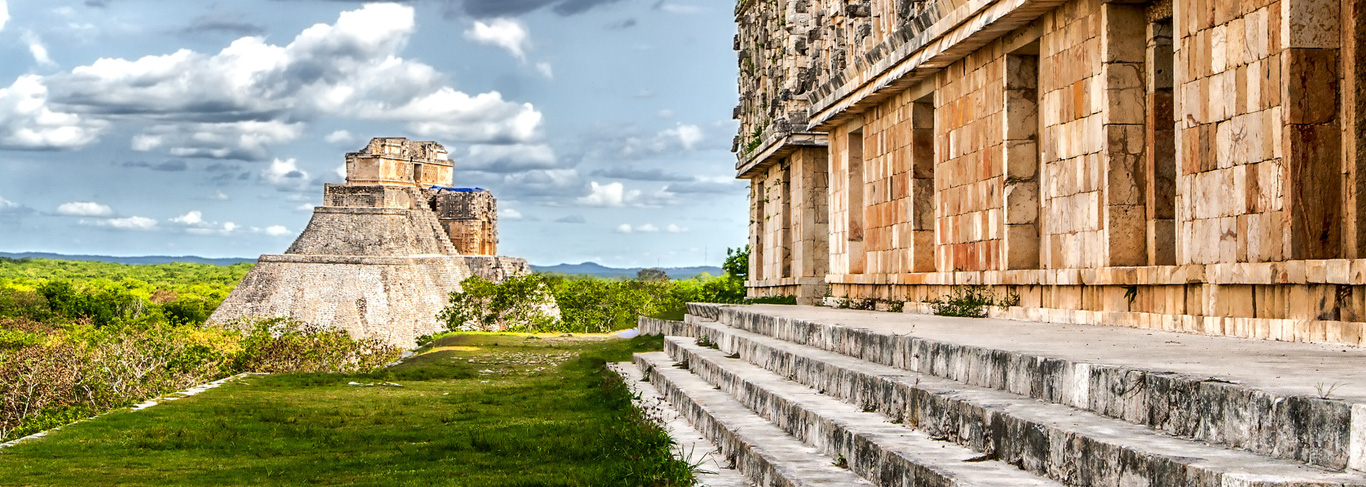 Ancienne cité maya d'Uxmal
