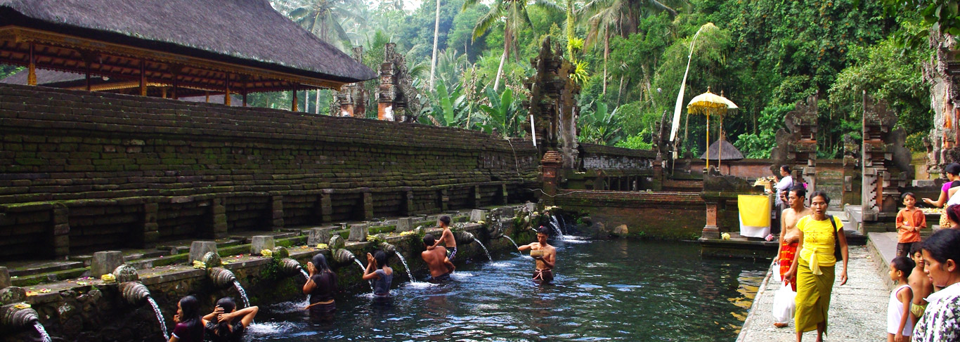 Visiter les temples à Bali : Tirta Empul