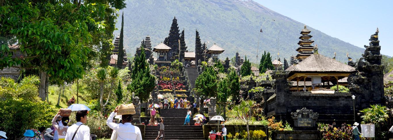 Temple Besakih à Bali
