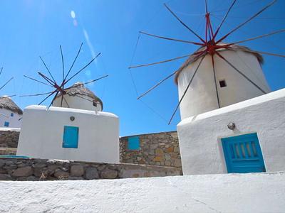 Les moulins de Mykonos |