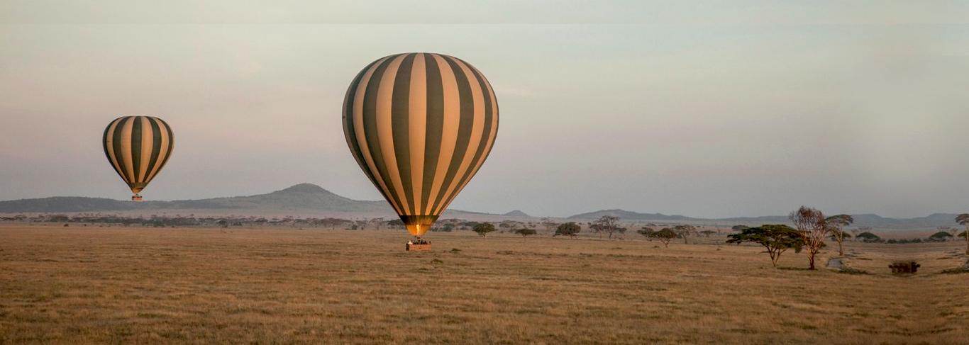 Safari tanzanie montgolfière