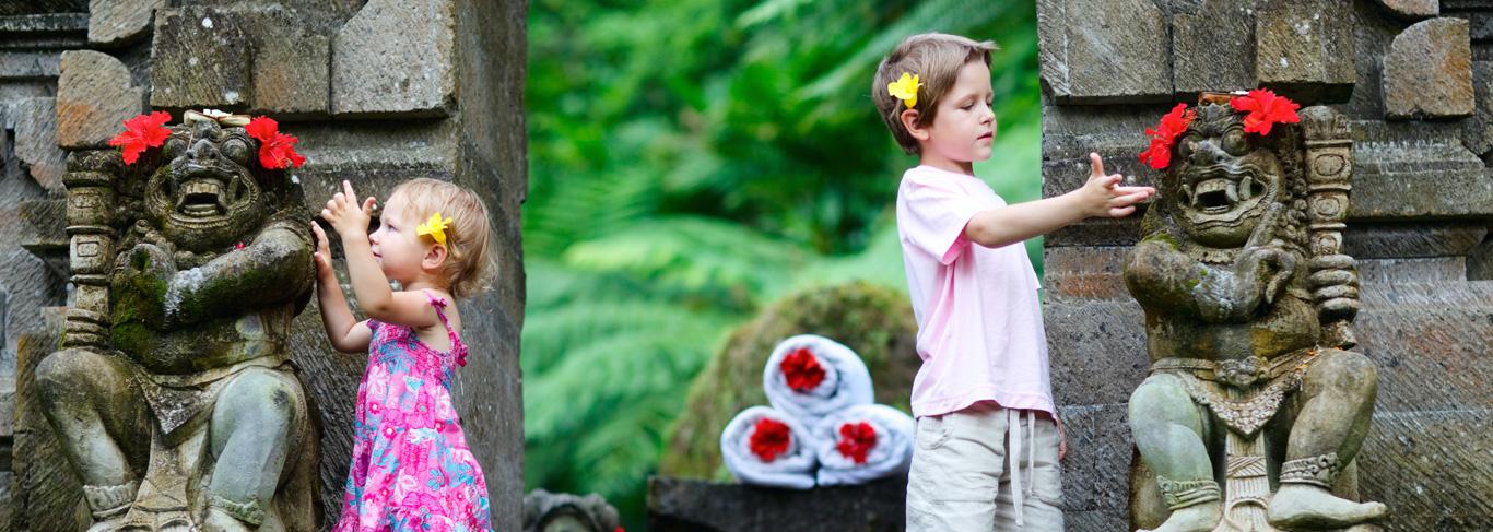 Partir à Bali avec ses enfants