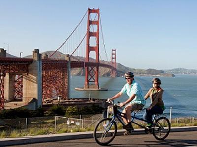Balade à vélo sur le Golden Gate Bridge