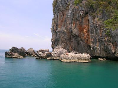 Balade en kayak à Talabeng