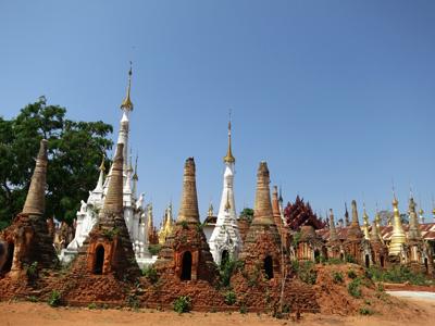 Les stupas de Sagar