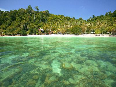 Découverte des îles de Trang