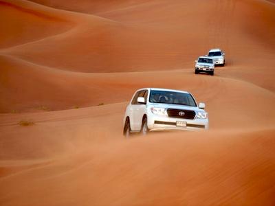 4x4 dans les dunes