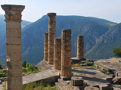 Journée à Delphes