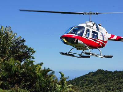 Survol de l'île Maurice en Hélicoptère