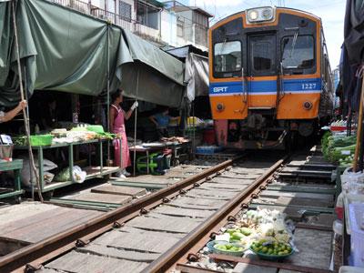 Marchés du Sud de Bangkok
