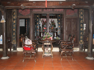 maison traditionnel Hanoienne