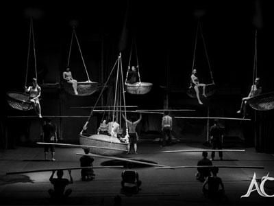 Spectacle de cirque « À O »
