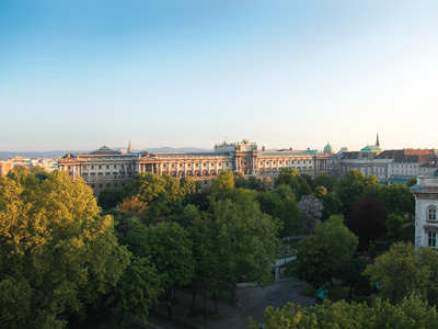 Palais Impérial de Vienne - Wien Bild