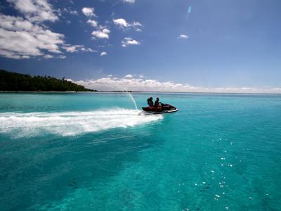 Tour de Bora Bora en jet ski