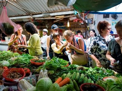 Tour du marché et de la cuisine de rue avec Daniel Hoyer