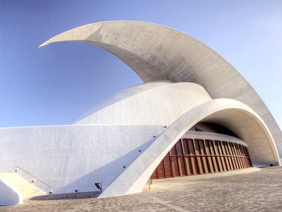 Auditorium de Tenerife Adán Martín (Till Krech / Flickr)