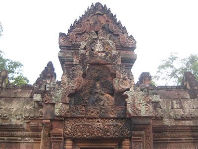 Temple de Banteay Srei au Cambodge