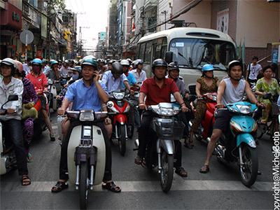 Le Quartier Chinatown à Saigon (Michel Gotin)