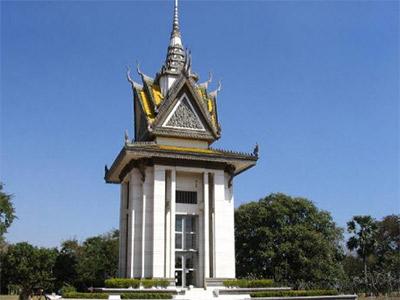 Choeung Ek à Phnom Penh