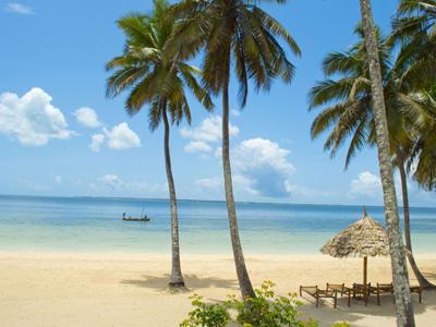 La plage de Chwaka
