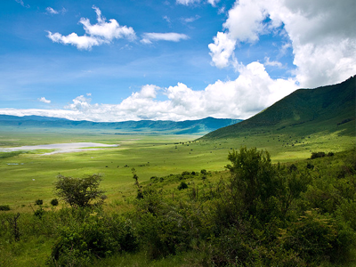 Cratère du Ngorongoro (William Warby / Flickr)