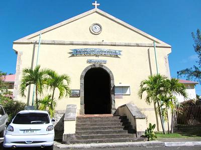 Eglise Catholique de Marigot (Richie Diesterheft / Wikimedia Commons)