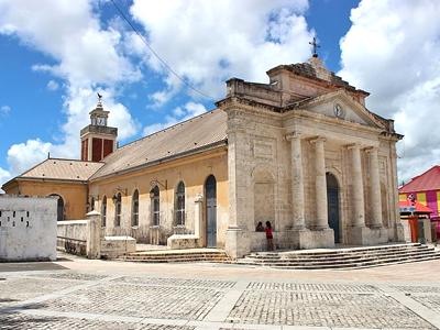 Église Saint-Jean-Baptiste du Moule (Aristoi / Wikimedia Commons)