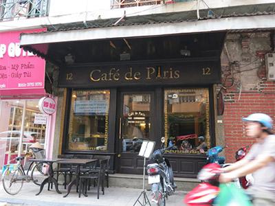 Le Café de Paris à Hanoi
