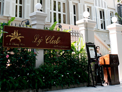 Restaurant Ly Club à Hanoi
